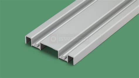 23 261 8 Ft X 3 In Mirror Door Track Swisco Com Closet Door Floor Track