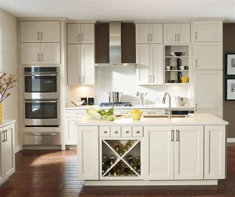 Armoire In Kitchen by White Cabinets In Casual Kitchen Cabinetry