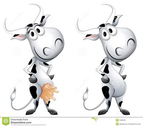 imagenes de vacas alegres personaje de dibujos animados de la vaca lechera stock de