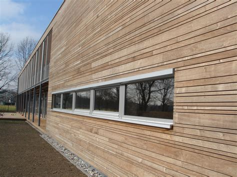 horizontale fassade thermo pappel aspe fassadenholz re elko holz gmbh co kg
