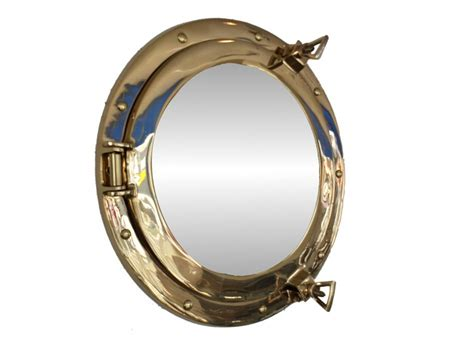 porthole mirror buy brass decorative ship porthole mirror 12 inch