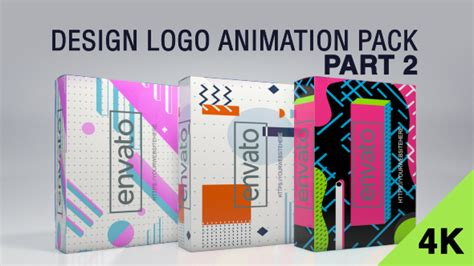 design logo animation pack design logo animation pack 2 after effects template