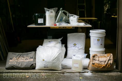 kitchen diy concrete countertops materials tools needed