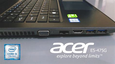 Harga Acer Aspire E5 476g review acer e5 475g intel 7th kaby lake gaming