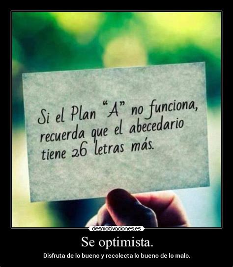 imagenes de optimismo para descargar se optimista desmotivaciones
