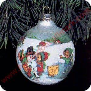 hallmark extra large snow globes 1991 betsey clark 6 hallmark ornament