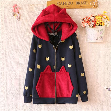 Pikachu Jacket By Neko Hoodie by Hoodie Coat 183 Kawaii Harajuku Fashion 183