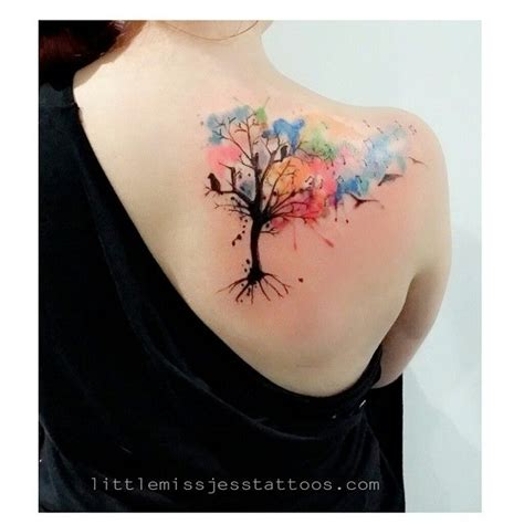 tattoo flower tree flowers and tree pictures to pin on pinterest tattooskid