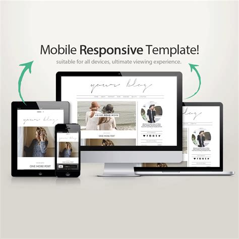 responsive mobile template template writers templates