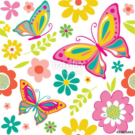 free printable butterfly wrapping paper quot spring pattern with cute butterflies suitable for gift