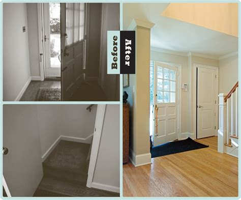 how to renovate foyer