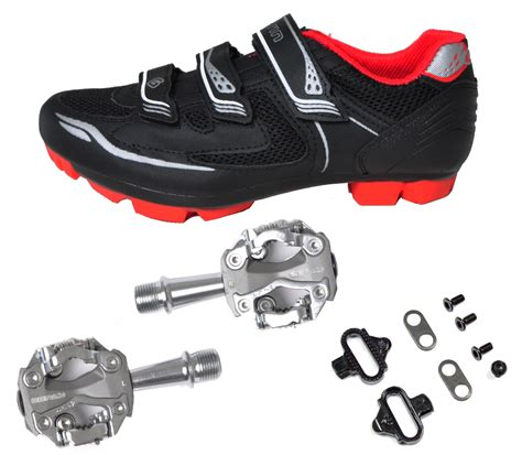 mountain bike shoes and pedals gavin road mountain cycling shoes mtb w pedals