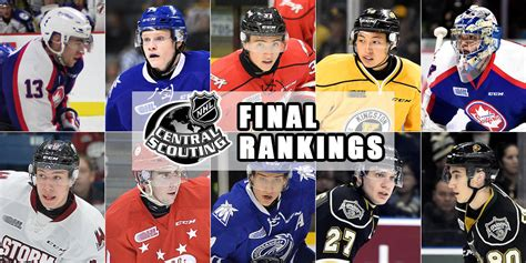 Nhl Draft Rankings 70 Ohl Players In 2017 Nhl Central Scouting Draft