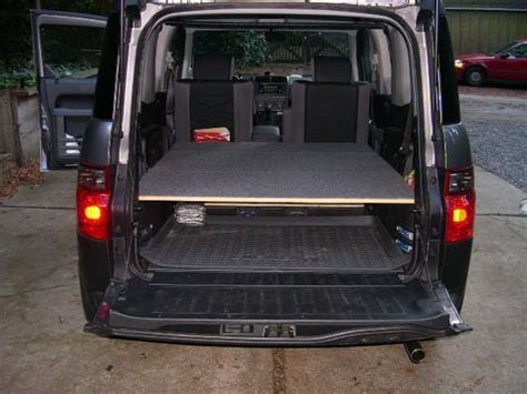 honda element bed easiest bed with mass storage honda element owners club