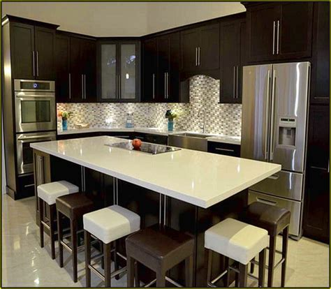 small kitchens with islands for seating small kitchen islands with seating home design ideas