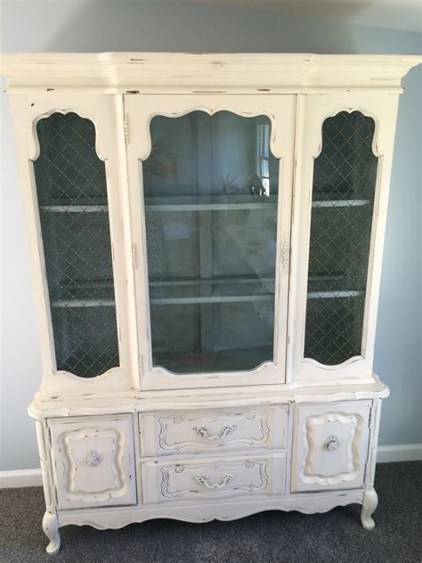 Can Anyone Tell Me How Old And What This Bassett China Cabinet Is Worth?   My Antique Furniture