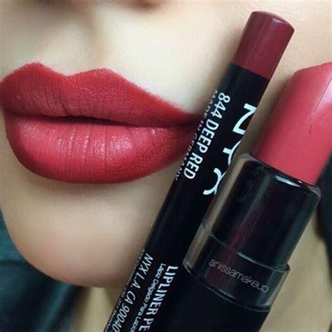 Lipliner Xoxo Crayon Murah nyx matte nyx matte lipsticks and ps on