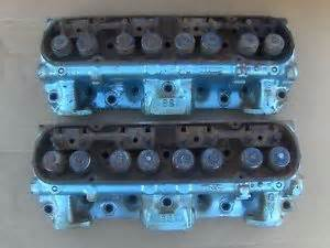 Aluminum Heads For Pontiac 400 1976 Pontiac 6s 7 400 Cylinder Heads Pair 100cc Firebird