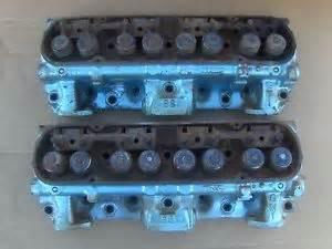 Pontiac 400 Aluminum Heads 1976 Pontiac 6s 7 400 Cylinder Heads Pair 100cc Firebird