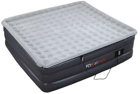 king size raised air mattress inflatable plush high rise airbed  fox air beds ebay