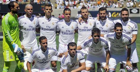 fotos real madrid equipo alineaci 243 n del real madrid fotogaler 237 a marca com
