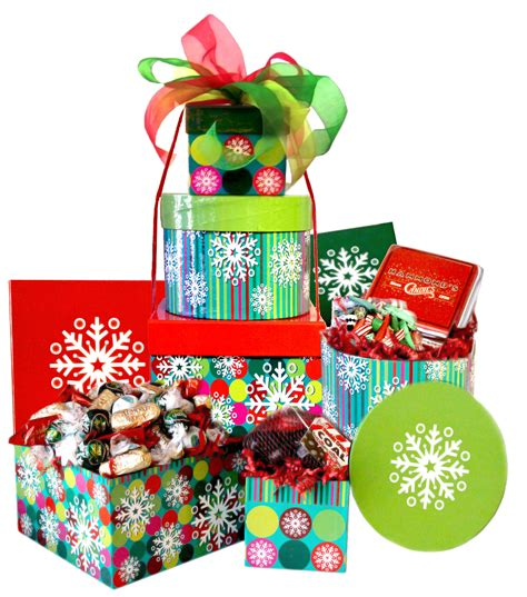 best christmas candy gift boxes baskets candy crate