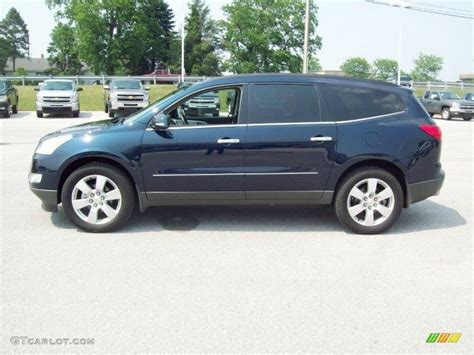 chevrolet traverse blue blue chevy traverse autos post