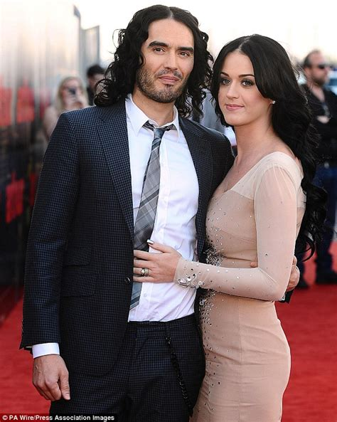 Russell brand marriage to katy perry