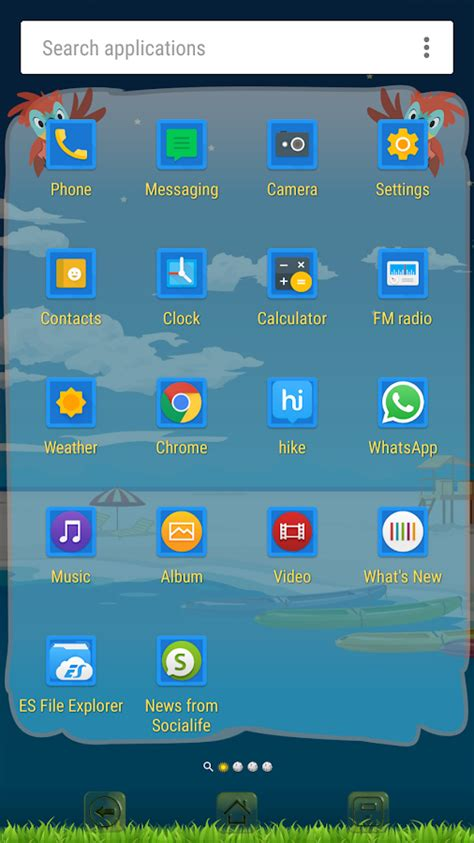 xperia themes play store summer theme for xperia android apps on google play