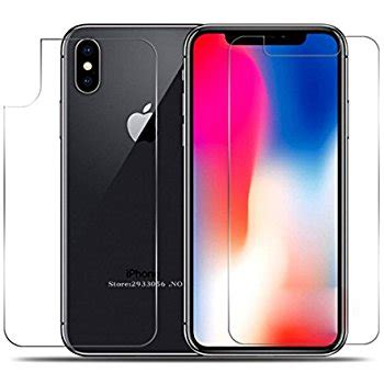 Tempered Glass Iphone X Back 5d Cover Friendly iphone x front and back screen protector