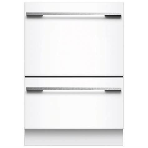 2 Drawer Dish Washer Shop Fisher Paykel 53 Decibel 2 Drawer Dishwasher Energy