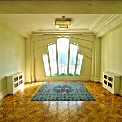 Gorgeous art deco interior Lush window and parquet flooring. Divine! Design Shuffle DIY Indoor