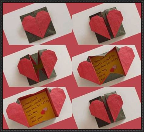 How To Make Origami Hearts - papercraftsquare new paper craft how to make a