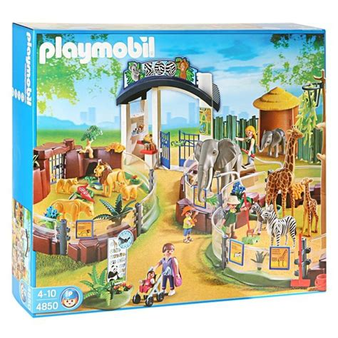 Playmobil Large Zoo With Entrance playmobil zoo playmobil grand zoo achat vente
