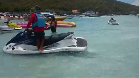 water scooter tricks best jet ski tricks in pattaya jetski stunts coral