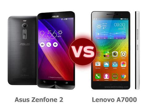Lenovo A7000 Vs Asus Zenfone 2
