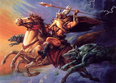 Wallpapers Gryphon Jeff Easley by Images Spear Horses Jeff Easley Warriors Run