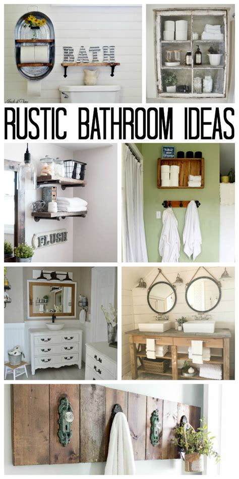 Rustic Chic Bathroom Ideas by Rustic Bathroom Ideas For Your Home The Country Chic Cottage