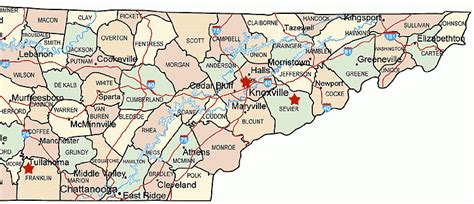 east tennessee road map map of eastern tennessee pictures to pin on