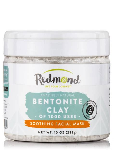 redmond clay bentonite clay powder 10 oz 283 grams