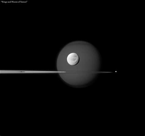 saturn rings number rings and moons of saturn
