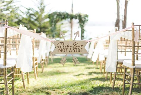 Wedding Aisle Signs by 22 Creative Wedding Signs Your Guests Will Praise
