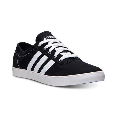 adidas vs easy vulc adidas men s neo easy vulc ad shoe black white in black