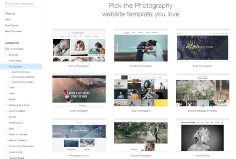 wix how to change template wix how to change template choice image template design