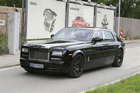 rolls royce phantom next generation rolls royce phantom interior spied for the