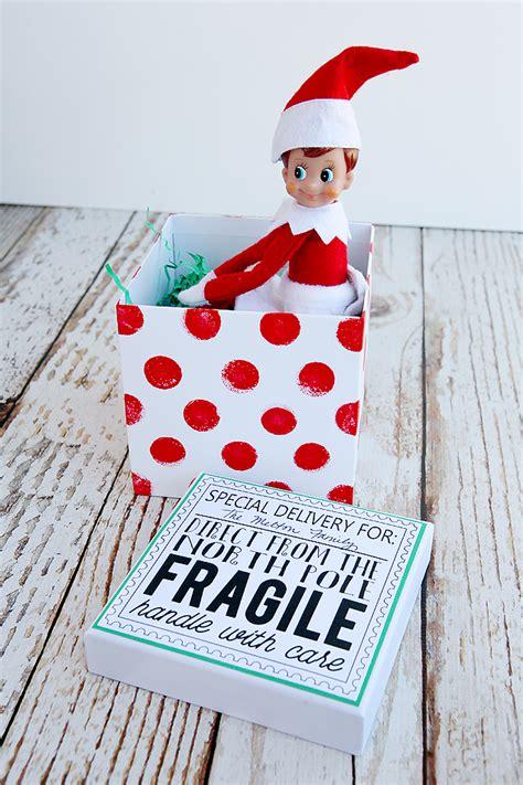 elf on the shelf return printables elf on the shelf returns eighteen25