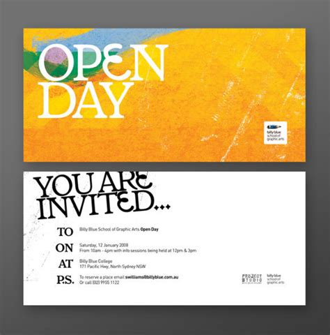 design an innovative invitation card for opening of a zoo 35 creative postcard invitation designs for inspiration