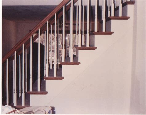 Converting closed stairs to open stairs   Home Improvement