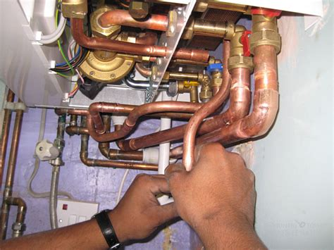 On Plumbing by Combi Boiler Fitting Photos