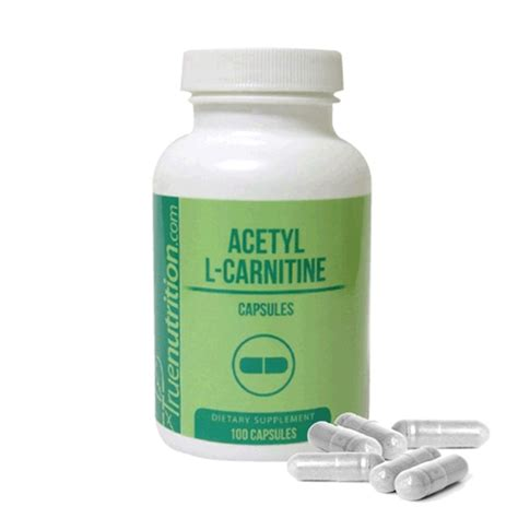 Acetylene L by Acetyl L Carnitine 100 500mg Capsules Burner Nootropic